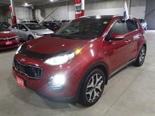 Used 2017 Kia Sportage SX  TURBO AWD ***FREE WINTER TIRES & RIMS INC!!*** for sale in Nepean, ON