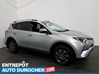 Used 2017 Toyota RAV4 LE AWD Automatique - A/C - Caméra de Recul for sale in Laval, QC