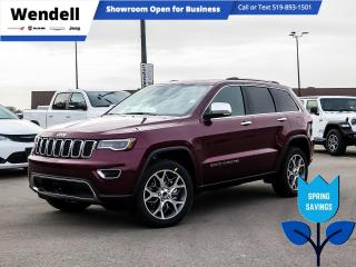 New 2021 Jeep Grand Cherokee Limited | Alpine Sound | Trailer Tow for sale in Kitchener, ON