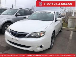 Used 2010 Subaru Impreza 2.5  AWD  Alloys  AS IS  Make AN Offer for sale in Stouffville, ON