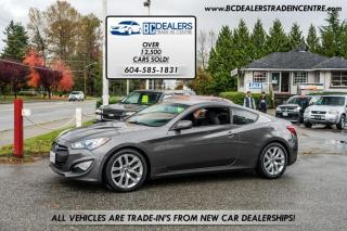 Used 2013 Hyundai Genesis Coupe 2.0T Turbo, Bluetooth, Climate Control, Alloys, Automatic for sale in Surrey, BC