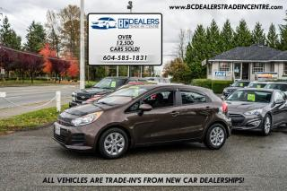 Used 2016 Kia Rio 5-Door Hatchback with only 56k! Local, No Accidents, Clean! for sale in Surrey, BC
