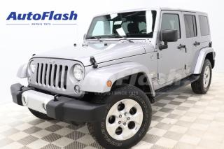Used 2014 Jeep Wrangler Unlimited SAHARA* 2-Toits!/2-Roofs! GPS *Bluetooth for sale in Saint-Hubert, QC