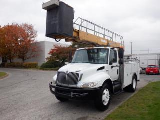 Used 2008 International 4300 Bucket Truck with Airbrakes Diesel for sale in Burnaby, BC