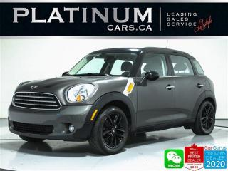 Used 2012 MINI Cooper Countryman LEATHER, AUTOMATIC, HEATED SEATS, POWER WINDOWS for sale in Toronto, ON