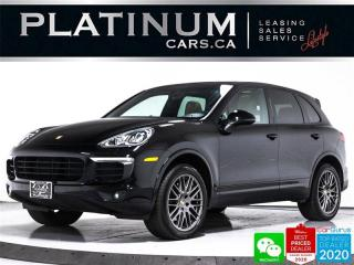 Used 2018 Porsche Cayenne Premium Plus, NAV, CAM, HEATED/VENT SEATS, BOSE for sale in Toronto, ON