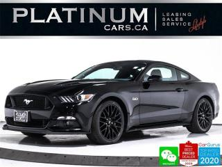 Used 2017 Ford Mustang GT, 435HP, CAM, MANUAL, PERFORMANCE, BREMBO for sale in Toronto, ON