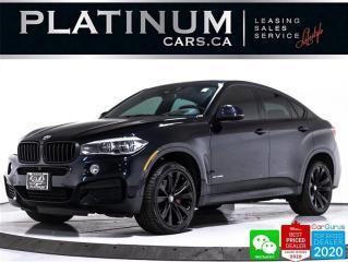 Used 2017 BMW X6 xDrive50i, MSPORT PKG, CAM, NAV, BANG&OLUFSEN, HUD for sale in Toronto, ON
