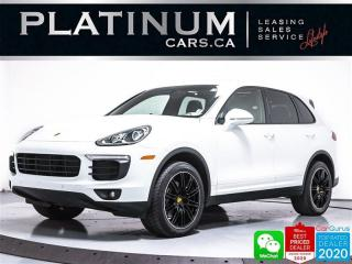 Used 2016 Porsche Cayenne AWD, NAV, PANO, ENTRY/DRIVE, LANE ASSIST, CAM, BT for sale in Toronto, ON