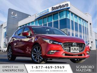 Used 2018 Mazda MAZDA3 Sport 0.99%@FINANCE|CPO|GT PREMIUM|HATCHBACK|1 OWNER for sale in Scarborough, ON