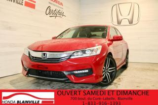 Used 2017 Honda Accord Sport for sale in Blainville, QC