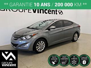 Used 2016 Hyundai Elantra GLS ** GARANTIE 10 ANS ** Véhicule fiable et économique! for sale in Shawinigan, QC