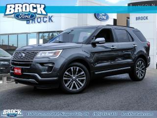 Used 2018 Ford Explorer Platinum for sale in Niagara Falls, ON