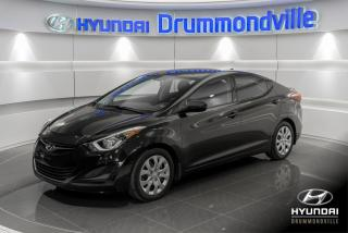 Used 2016 Hyundai Elantra GL + GARANTIE + A/C + CRUISE + WOW !! for sale in Drummondville, QC