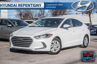 Used 2017 Hyundai Elantra LE 4 PORTES**A/C, GROUPE ELECTRIQUE, BLUETOOTH** for sale in Repentigny, QC
