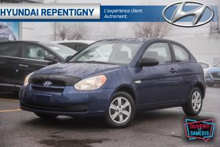 Used 2009 Hyundai Accent L 3 PORTES**BAS KILOMETRAGE** for sale in Repentigny, QC
