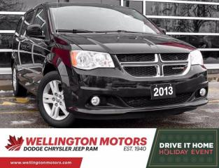 Used 2013 Dodge Grand Caravan Crew   1 Owner   Clean CarFax !! for sale in Guelph, ON