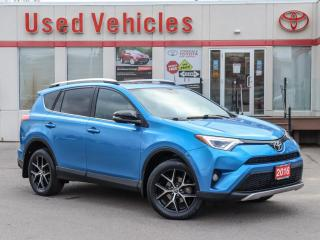 Used 2016 Toyota RAV4 SE AWD SUNROOF ALLOYS NAVI CAMERA H-SEATS FOG LAMP for sale in North York, ON