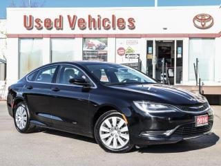 Used 2016 Chrysler 200 LX | HEATED SEATS | ALLOYS | CAMERA | SINGLE OWNER for sale in North York, ON
