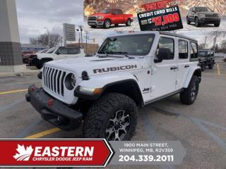 New 2021 Jeep Wrangler Rubicon | Removeable Hard & Soft Top | Blind-Spot Det. | for sale in Winnipeg, MB
