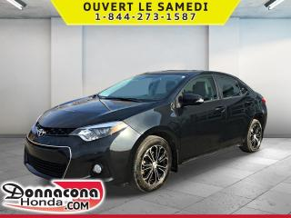 Used 2016 Toyota Corolla S * AUTOMATIQUE, CUIR, MAGS* for sale in Donnacona, QC