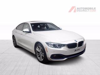 Used 2016 BMW 4 Series 428i Gran Coupé xDrive Cuir Toit Sièges Chauffants for sale in St-Hubert, QC