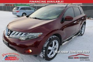 Used 2009 Nissan Murano LE for sale in West Saint Paul, MB