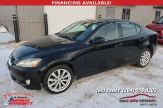 Used 2008 Lexus IS 250 for sale in West Saint Paul, MB