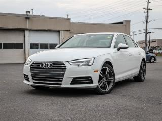 Used 2017 Audi A4 2.0T Technik Quattro 7 Spd S-Tronic for sale in Ottawa, ON