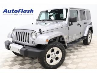 Used 2014 Jeep Wrangler SAHARA* 2-Toits!/2-Roofs! GPS *Bluetooth for sale in St-Hubert, QC