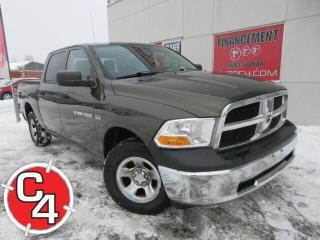 Used 2012 RAM 1500 ST CREW CAB 4X4  V8 5.7L HEMI GR.ÉLECT. CD A/C for sale in St-Jérôme, QC