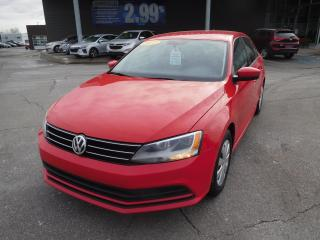 Used 2017 Volkswagen Jetta AUTO1.4 TSITrendline+,A/C,CRUISE,CAMERA for sale in Mirabel, QC