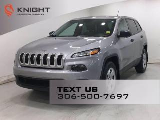 Used 2016 Jeep Cherokee SPORT 4X4 V6 for sale in Regina, SK