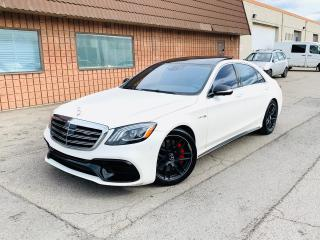 Used 2018 Mercedes-Benz S-Class AMG S 63 | CLEAN CARFAX | CERTIFIED for sale in Burlington, ON