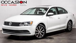 Used 2016 Volkswagen Jetta 1.4 TSI Comfortline TOIT.OUVRANT+MAGS+BLUETOOTH for sale in Boisbriand, QC