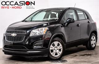 Used 2015 Chevrolet Trax LS BLUETOOTH+A/C+GR.ELECTRIQUE for sale in Boisbriand, QC