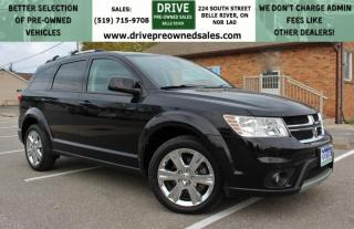 Used 2016 Dodge Journey SXT/Limited 7-PASSENGER | LIMITED | NO ACCIDENTS | Heated Seats Bluetooth Backup Cam for sale in Belle River, ON