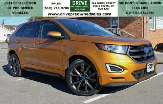 Used 2015 Ford Edge Sport SPORT | NO ACCIDENTS | AWD Heated Leather Moon Roof Bluetooth Backup Cam for sale in Belle River, ON