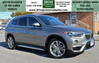 Used 2016 BMW X1 xDrive28i | NO ACCIDENTS | AWD Heated Leather Bluetooth Backup Cam for sale in Belle River, ON