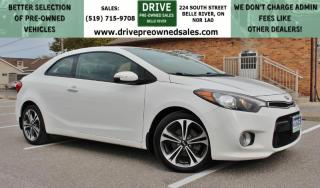 Used 2016 Kia Forte Koup 2.0L EX EX | ONE OWNER | NO ACCIDENTS | EXTRA SET OF WINTER WHEELS | Heated Seats Sun Roof Bluetooth for sale in Belle River, ON