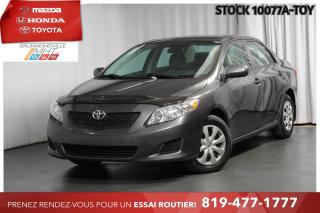 Used 2009 Toyota Corolla 1 PROPRIO| MANUELLE| TRÈS PROPRE for sale in Drummondville, QC