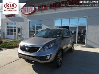 Used 2016 Kia Sportage EX w/Luxury Pkg for sale in Lethbridge, AB