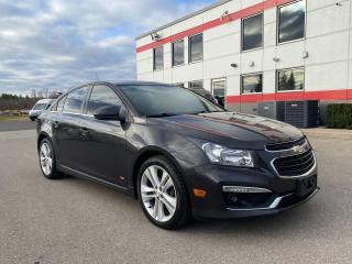 Used 2016 Chevrolet Cruze LT limited for sale in Tillsonburg, ON