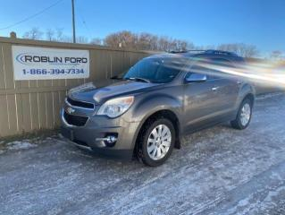 Used 2011 Chevrolet Equinox LTZ for sale in Roblin, MB