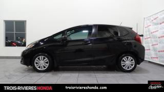 Used 2017 Honda Fit LX + BLUETOOTH + CAMERA + VITRES TEINTEE for sale in Trois-Rivières, QC