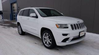 Used 2015 Jeep Grand Cherokee Summit 4x4, 3.0L Eco Diesel, Power Sunroof, Naviga for sale in Winnipeg, MB
