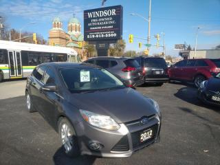 Used 2012 Ford Focus SEL for sale in Windsor, ON