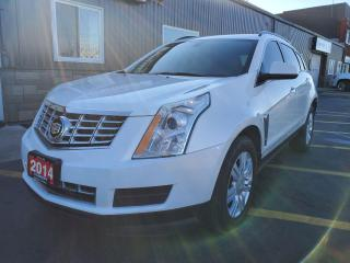 Used 2014 Cadillac SRX LEATHER-HEATED SEATS-BLUETOOTH for sale in Tilbury, ON