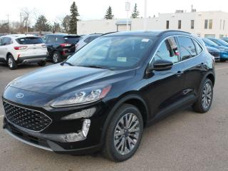 New 2020 Ford Escape Titanium | AWD | 2.0L Ecoboost | Heated Leather/Steering | NAV | Sunroof for sale in Edmonton, AB