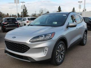 New 2020 Ford Escape Titanium | HYBRID | AWD | Wireless Charging | NAV | Sunroof | Heated Leather for sale in Edmonton, AB
